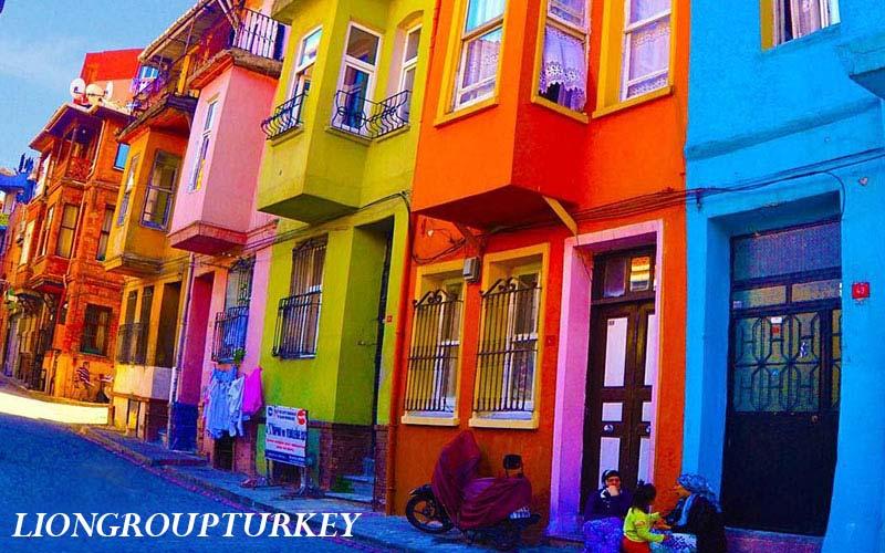 محله رنگارنگ استانبول