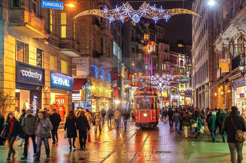 خیابان تکسیم استانبول